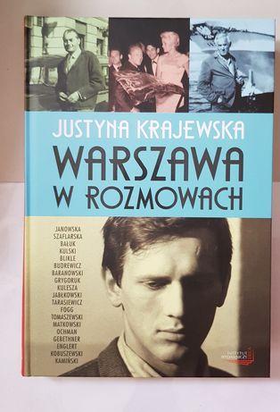 """""""Warszawa w rozmowach"""" Justyna Krajewska"""