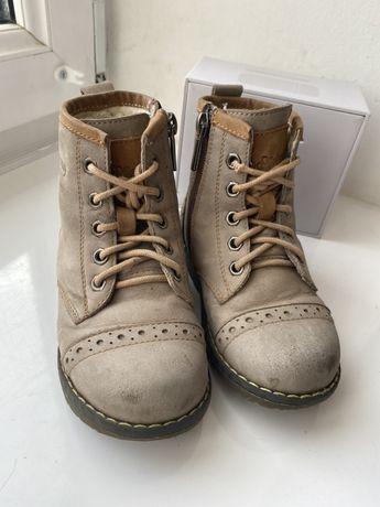 Сапоги ботинки детские зимние 25 размер