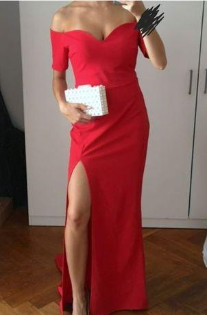 Cudowna czerwona sukienka