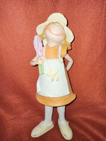 Peça decorativa boneca