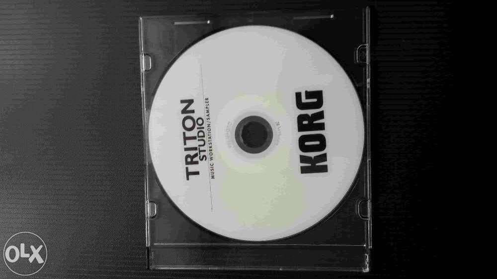 Korg Triton Studio Instrukcja PL Plyta CD korg