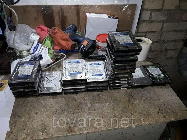 Жесткий диск Винчестер HDD 40, 80, 160, 250, 320, 500 Гб SATA II IDE