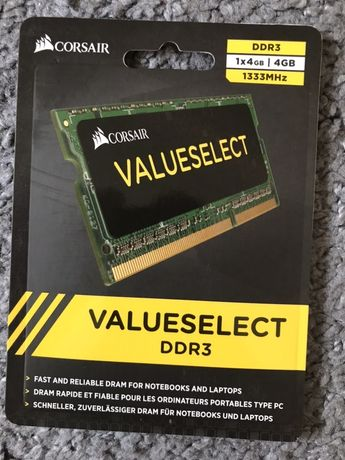 CORSAIR valueselect DDR3 1X4GB