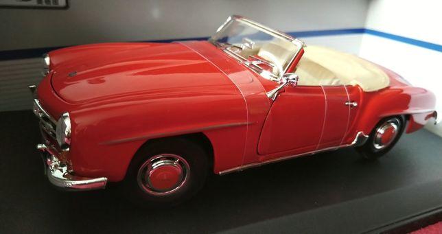 Модель 1955 Mercedes 190SL, новая ретро модель из сплава (Maisto 1:18)