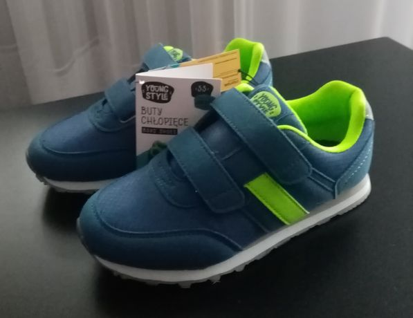 Nowe Buty chłopięce Young Style rozmiar 33