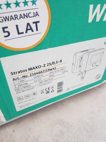 Pompa Wilo Stratos Maxo-Z 25/0.5-8