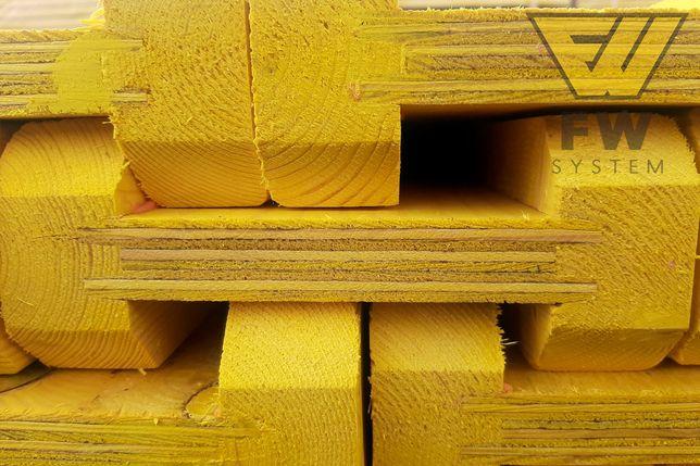 Dźwigar 390 Dźwigary drewniane H20 Nieokute Doki Legary Tregry
