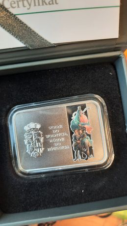 Moneta srebrna 20 zł 450 rocznica Unii lubelskiej