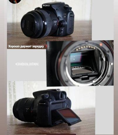 Фотокамера/зеркальный фотоаппарат Sony a58 объектив 18-55