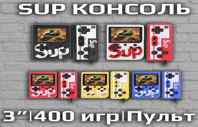 SUP Game Box ретро консоль для пары 8 bit LCD, 400 игр, джойстик.