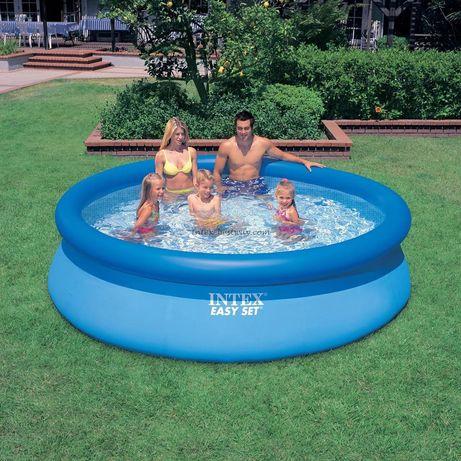 Детский надувной бассейн Intex 28120 (305*76 см)