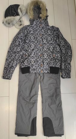 Лыжный костюм: куртка, штаны, шапка