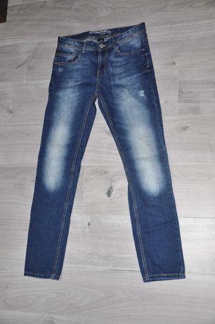 CHAPTER YOUNG jeansy wycierane r. 170 cm