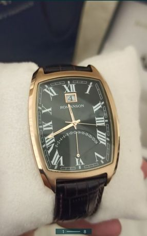 Часы новые Romanson tl 0394 Швейцария ,позолота.