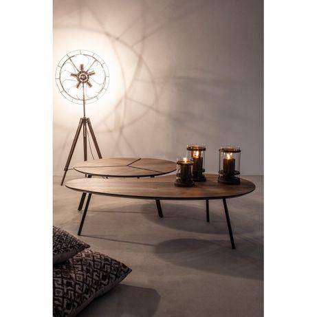 Mesa apoio Redonda Nogueira Side Table- NOVO by OVO Home