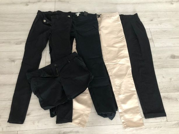 Duża paka spodni rurek plus spodenki