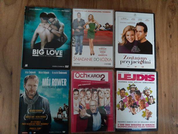 Filmy romantyczne 6 szt