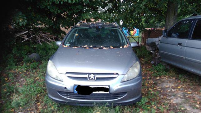 Peugeot 307 2.0 HDi 2003 r *WSZYSTKIE CZĘŚCI*