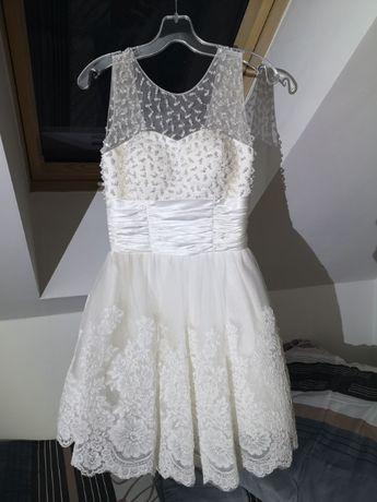 Sukienka weselna / ślubna elegancka stan idealny