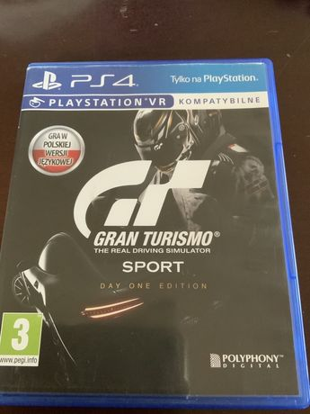 PS4 Gran Tourismo Day One Edition