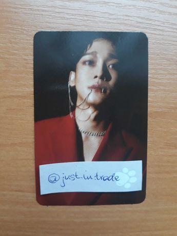 Karta photocard Chen EXO Obsession Ver. Obsession