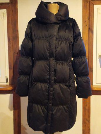 Puchowy płaszcz In Wear roz 40 mega ciepły