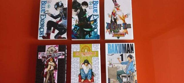 Mangas vários volumes