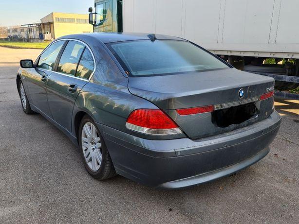 BMW 745 i 2002 r + Gaz sprzedam lub zamienię z dopłatą