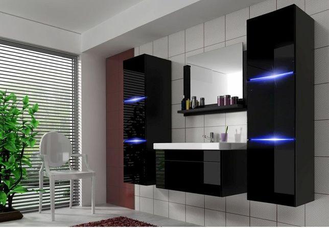 DINO 2 – meble łazienkowe wiszące kolory połysk - DOWÓZ GRATIS