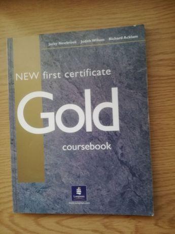 Gold coursebook jęz.angielski
