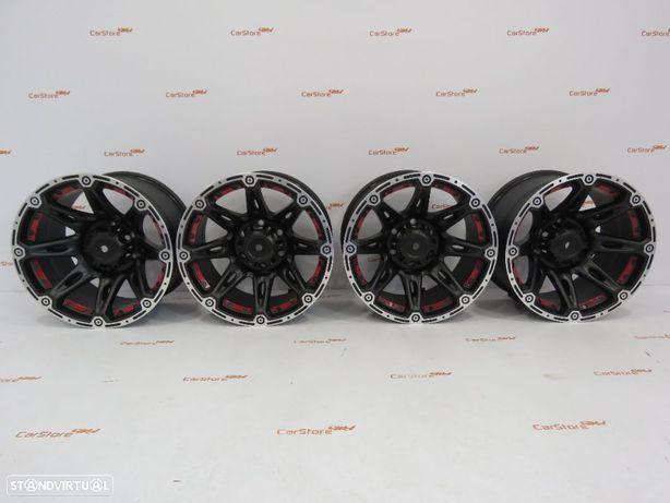 Jantes aluminio 4x4 Torke 17x9 ET-35 6x139.7