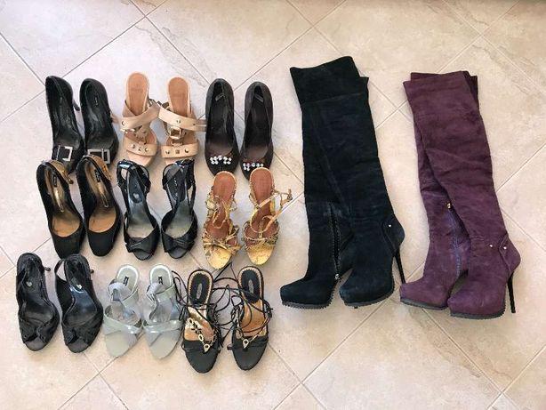 Lote de sapatos de senhora da marca SHUTZ tamanho 38