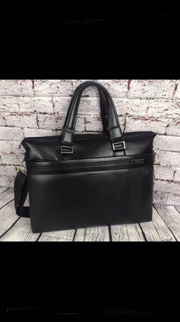 Мужская деловая сумка-портфель для документов формат а4