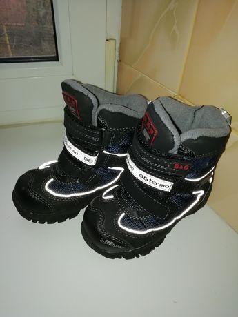 Ботиночки, зима на мальчика. 23 размер.