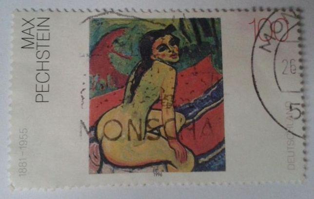 Znaczki pocztowe (skasowane) - MALARSTWO - NRD (Niemcy)