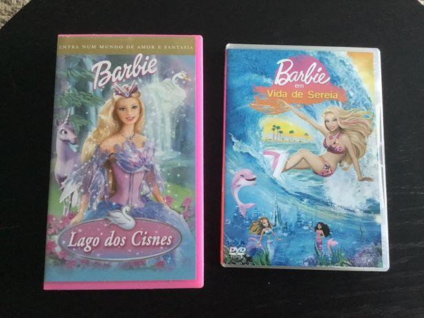 Cassete e DVD Barbie