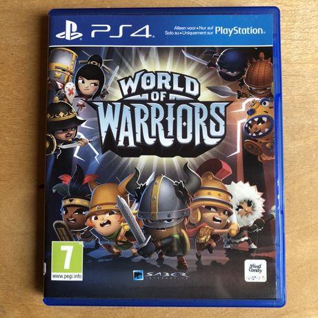 PS 4 gra World od Warriors