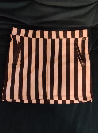 Нарядная юбка в полоску