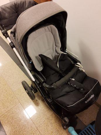 Baby design Husky szaro czarny