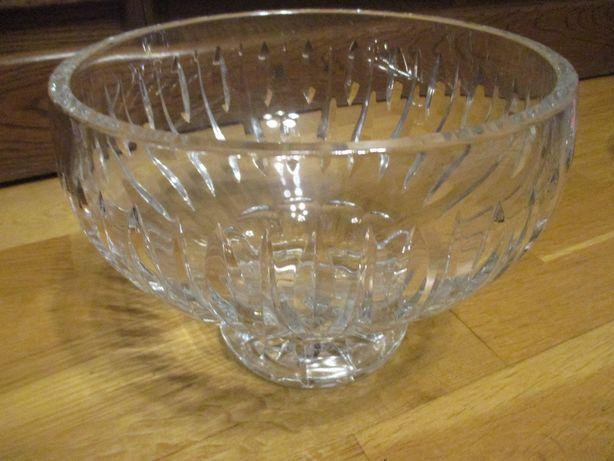 kryształy misa na owoce kryształowa szklana