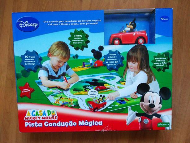 Pista Condução Mickey Mouse Mágica NOVO A Casa do Mickey Mouse