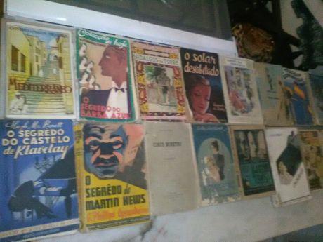 Conjunto de 16 Livros Antigos Diversos
