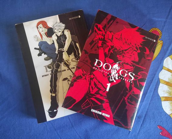 Manga Dogs Stray dogs howling in the dark i Bullets & Carnage
