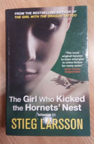 the girl who kicked the hornet's nest Stieg Larsson