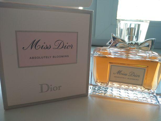 Продам Miss Dior absolutely blooming 100ml, original 100%