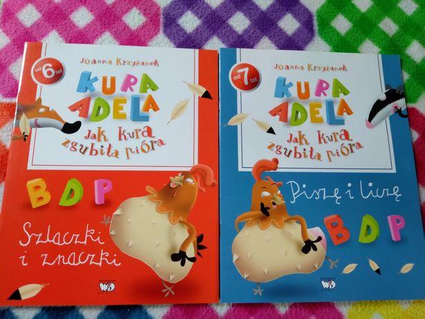 Edukacyjne książki dla dzieci - 2 sztuki.