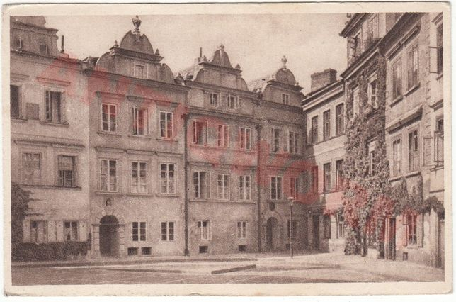 Warszawa - Ulica Kanonja - Jan Bułhak