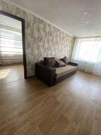 Сдаётся2 комнатная квартира с мебелью и ремонтом в Центре.