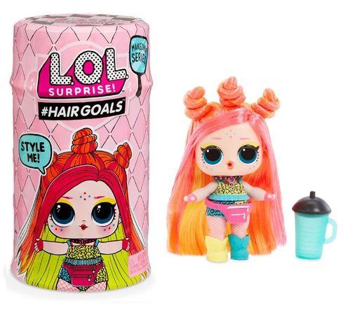 Кукла ЛОЛ капсулаL.O.L. Surprise S5 W2 Hairgoals Модное перевоплощение