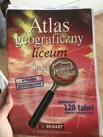 Atlas geograficzny liceum wydanie rozszerzone